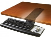 $153 off 3M Knob Adjust Keyboard Tray, Gel Rests, Precise Mouse Pad