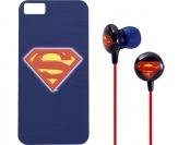 80% off iHip Superman Case for Apple iPhone 5 & Headphones