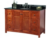 53% off Foremost KNCABK4922D Knoxville Vanity with Granite Top