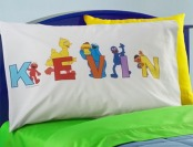19% off Personalized Sesame Street Alphabet Pillow Case
