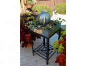 $134 off Unique Arts Stainless Steel Square Tabletop Fountain