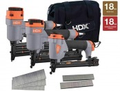 $70 off HDX HDXBRSTK 5-piece Pneumatic Finishing Kit