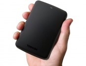 $104 off Toshiba Canvio Basics 2TB USB 3.0 Portable Hard Drive