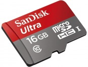 68% off SanDisk Ultra 16GB microSDHC Class 10 Memory Card