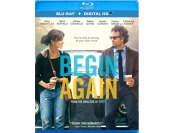 $20 off Begin Again Blu-ray