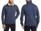 74% off Arrow Men's Sueded Fleece Jacket w/ Sherpa Lining