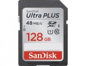 55% off SanDisk Ultra Plus 128GB Memory Card, SDSDUP-128G-A46