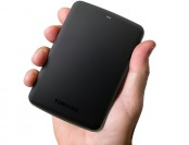 $50 off Toshiba Canvio Basics 1TB USB 3.0 Portable Hard Drive
