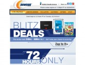 Newegg 72-Hour Blizt deals - Tons of Top-rated Items on Sale