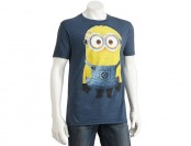 80% off Despicable Me 2 Huzza Minion Men's T-Shirt