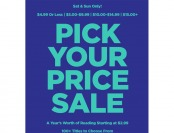 DiscountMags Pick Your Price Sale - Titles Starting at $2.99