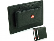 78% off Alpine Swiss Leather Money Clip Front Pocket Wallet