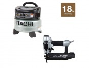 20% off Hitachi KCP-50-H 18-gauge Finish Nailer & Compressor Kit