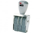73% off Officemate Stamp Line Dater with 6 Phrases, Size #1.5