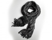 85% off Kenneth Cole New York Mixed Pattern Scarf