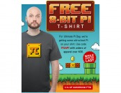 FREE 8_Bit Pi T-Shirt When You Spend $30+ at ThinkGeek