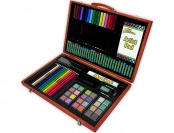 87% off Royal Brush Art Adventure 106-Piece Wood Box Art Set