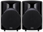 "$460 off Musician's Gear MG115A 15"" 2-Way Powered Speaker (Pair)"