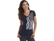 79% off U.S. Polo Assn. Junior's Graphic T-Shirt - American Flag