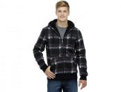 83% off Amplify Young Men's Hoodie Jacket - Plaid