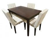 17% off HomeSullivan 5039-48(3A) Braemar Dining Table in Espresso