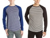74% off Oakley Men's O-Raglan T-Shirt, Jet Black or Dark Blue