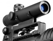 $76 off BARSKA 4x20 Electro Sight Scope AR-15 / M-16 Riflescope