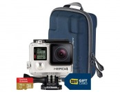 29% off GoPro HERO4 Silver/MOTO Action Camera Bundle w/ Gift Card