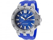 $450 off Swiss Legend Challenger Blue Silicone and Dial Watch