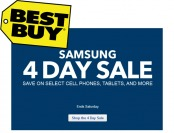 Best Buy Samsung Four Day Sale Event