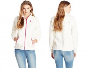 74% off U.S. Polo Assn. Women's Polar Fleece Jacket, Oat