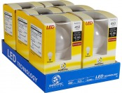 57% off Energetic Lighting 5.5W LED (40W Eqv) 450 Lumen, 6-Pack