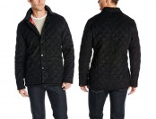 $318 off 7 For All Mankind Men's Quilted Cord Jacket In Onyx