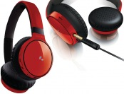 $90 off Philips SHB9100 Bluetooth Over-Ear Headphones, Red