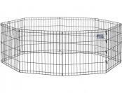 "63% off Midwest Black E-Coat Exercise Pen 24"" x 24"""