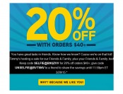 Save an Extra 20% off Your $40+ Purchase at ThinkGeek
