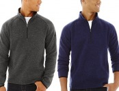 93% off ZeroXposur Men's Strand Quarter-Zip Sweater, 2 colors