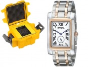 "$634 off Invicta Men's ""Cuadro"" Swiss Quartz Watch"