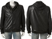 $160 off Rock & Republic Men's Hooded Moto Jacket