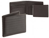 85% off Joseph Abboud Pinstripe Embossed Passcase Men's Wallet