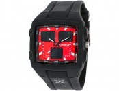 93% off Oxbow Multi-Function Red Dial Black Rubber Men's Watch