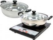 72% off Tayama 1500W Digital Induction Cooktop + Cooking Pot