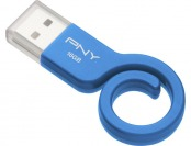 20% off PNY Monkey Tail Attache 16GB Blue USB Flash Drive
