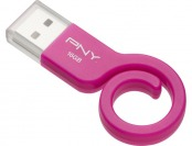 20% off PNY Monkey Tail Attache 16GB Pink USB Flash Drive