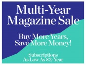 DiscountMags Multi-Year Magazine Subscription Sale, from $3