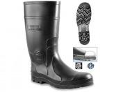 80% off Genfoot America Men's Black Steel Toe Boots