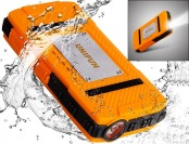 71% off UNIFUN 10400mAh Rugged Water/Dirt/Shockproof Power Bank
