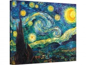 97% off Starry Night by Vincent Van Gogh Gallery Wrapped Canvas Art