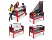 "$81 off Majik 48"" 5 in 1 Swivel Game Table"