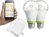 50% off GE LINK Starter Pack - Link Hub + 2 GE Link A19 Light Bulb